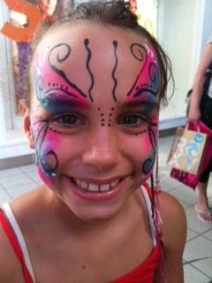 facepaint butterfly