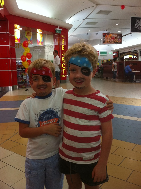 facepaint pirates to print