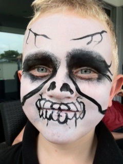 facepaint scary