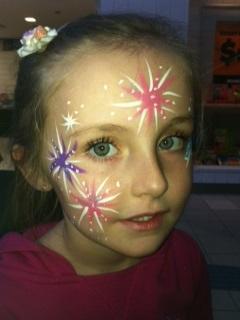 facepaint stars