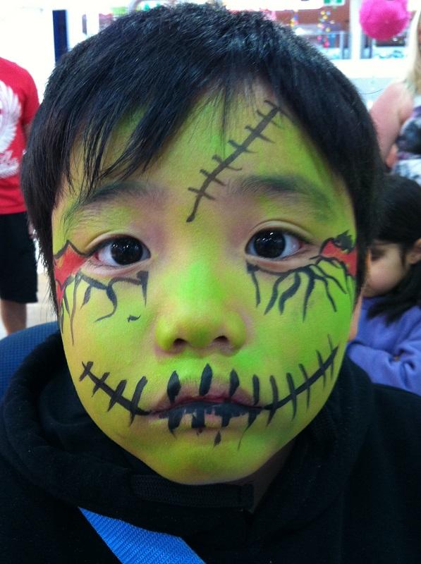 facepaint zombie