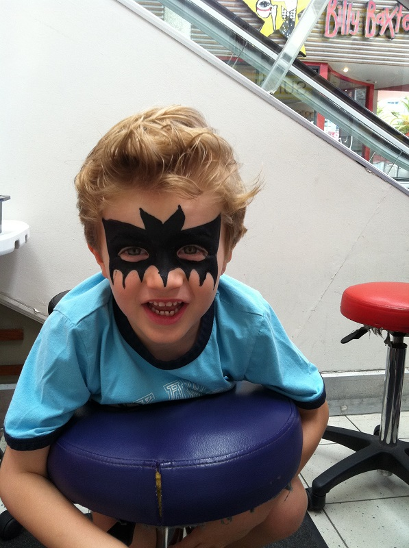 facepaintbatman
